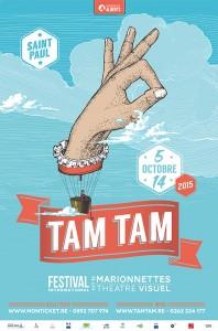 TAM TAM 2015•Affiche pour A4